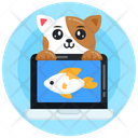 Online Game Fish Game Cat Fish Game Icon