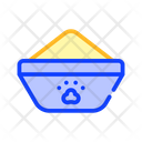 Bowl Feeding Color Icon