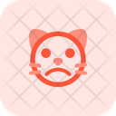 Cat Frowning Icon