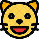 Cat Grinning Icon