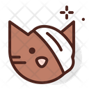 Cat Injury On Face Icon