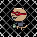 Cat Vector Thief Icon