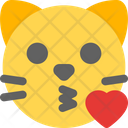 Cat Kissing Love Icon