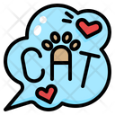 Cat Lettering Icon