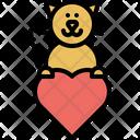 Love Animal Domestic Icon