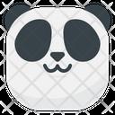 Cat Mouth Panda Emoji Icon