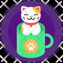Kitten Mug Cat Mug Coffee Mug Icon