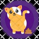 Cat Faeces Cat Poop Cat Shit Icon