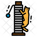 Scratching Post Cat Icon
