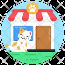 Pet Shop Animal Shop Pet Outlet Icon