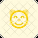 Cat Smiling Icon
