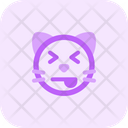 Cat Squinting Tongue Icon