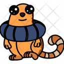 Cat With Life Saver Icon