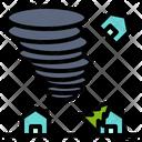 Catastrophe Disaster Danger Icon