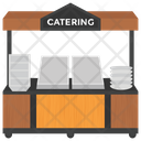 Catering Service Catering Business Catering Stall Icon