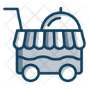Catering Trolley Icon