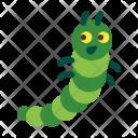 Caterpillar Animal Icon