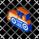 Equipment Excavator Industry Icon