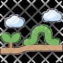 Caterpillar Earthworm Malware Icon