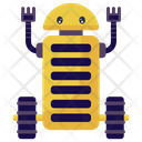 Caterpillar Robot Robot Insect Mechanical Robot Icon