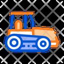 Caterpillar Tractor Vehicle Icon