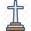 Catholic Jesus Cross Icon