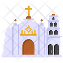 Church Religious Place Christian Building Icon
