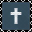 Catholic cross Icon