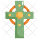 Catholic Cross Saint Patricks Day Icon