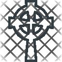 Catholic Cross Grave Icon