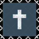 Catholic Cross Church Icon