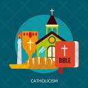 Catholicism Day Celebrations Icon