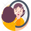Catoptrophobia Fear Of Mirrors Icon