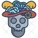 Catrina Catrina Skull Darkness Icon