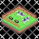 Cows Farm Animals Farm Domestic Animals Icon