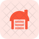 Cattle Shed Warehouse Airport Cargo Icon