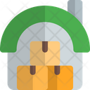 Cattle Shed Boxes Icon
