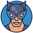 Gotham Girl Animated Series Warrior Icon