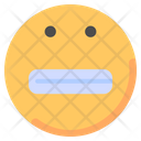 Caught Smile Emoji Icon