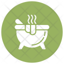 Cauldron Halloween Cook Icon