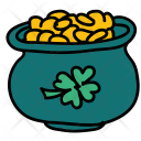 Lucky Cauldron Gold Icon
