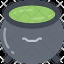 Cauldron Evil Halloween Icon