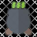 Cauldron Witch Halloween Icon