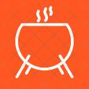 Cauldron Magic Black Icon