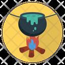 Cauldron Witch Fire Icon