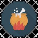 Cauldron Witch Boiling Icon