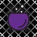 Halloween Cauldron Scary Icon