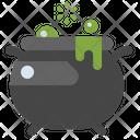 Cauldron Halloween Magic Icon