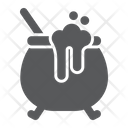 Witch Cauldron Pot Icon
