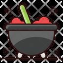 Cauldron Cooking Pot Halloween Pot Icon